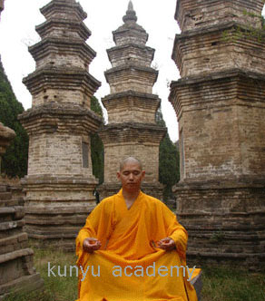 Headmaster in shaolin temple